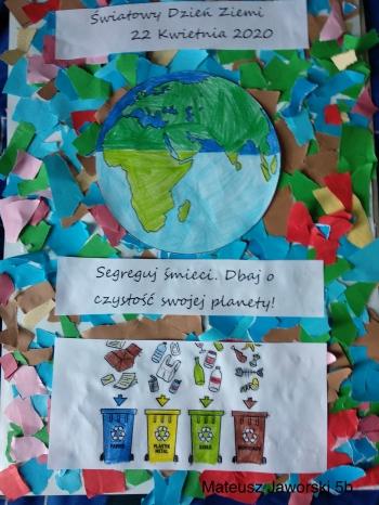 plakat Dzień Ziemi 2020