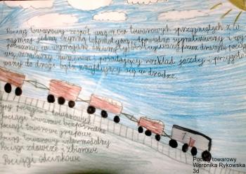 Weronika- pociąg towarowy