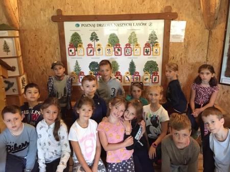 Klasa 3d w Ogrodzie Botanicznym