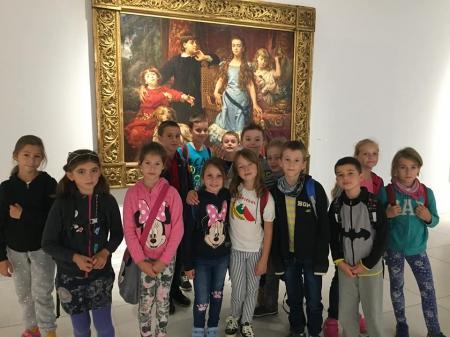 Klasa 3d w Państwowej Galerii Sztuki