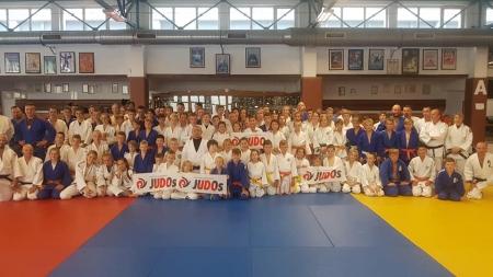 Spotkanie młodych judoków z Hirokawa Shoshin z Japonii