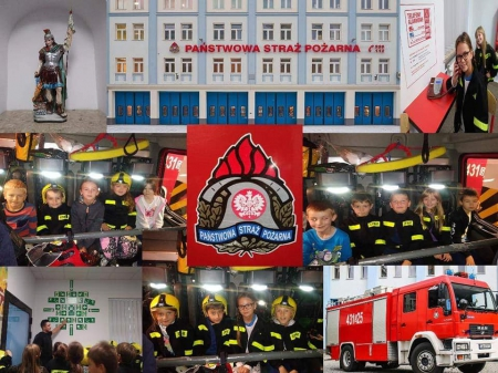 Uczniowe klas 2 odwiedzili strażaków
