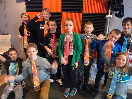 Klasa 5b w VR Studio