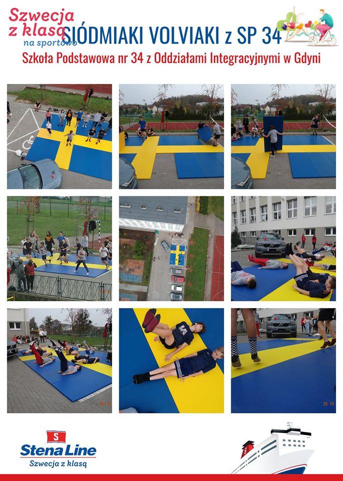 Konkurs - Szwecja z klasą czyli klasa 7a też prosi o wsparcie