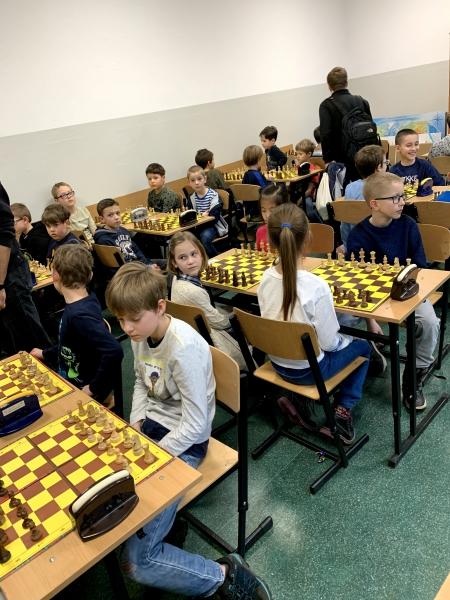 W sobotę ''królowały'' szachy