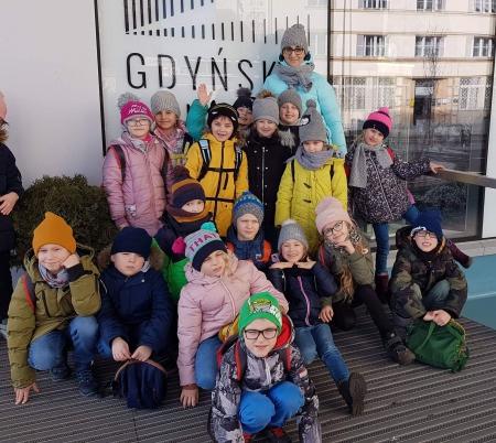 Klasy 1a i 2b odwiedziły Gdyńskie Centrum Filmowe