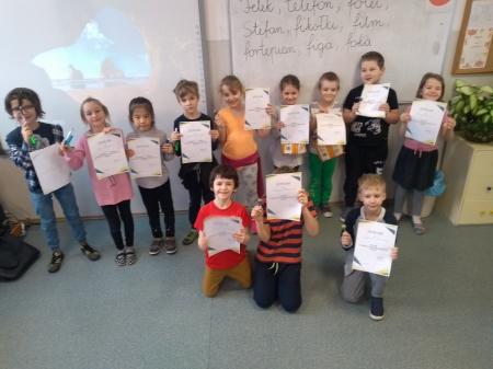 Konkurs plastyczny w klasie 1b