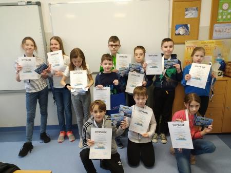 Klasa 3a brała z sukcesami udział w konkursie