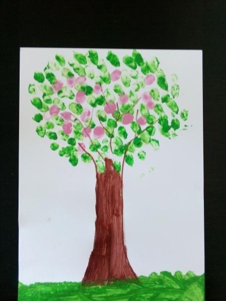 Wiosenne drzewa klasy 1b