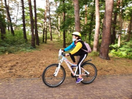 Klasa 6d ponownie wycieczce rowerowej