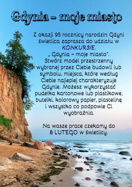 """Konkurs """"Gdynia - moje miasto''"""