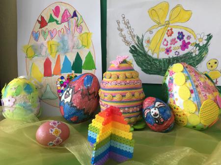 Wyniki konkursu ,,Moja kolorowa pisanka Wielkanocna''