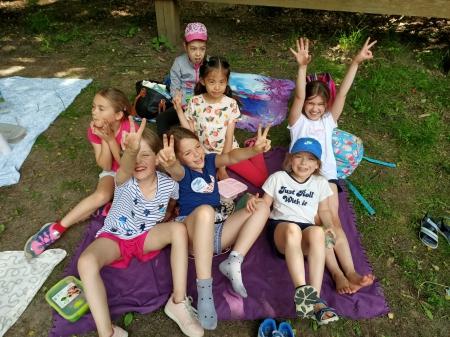 Zdrowy piknik w klasie 2b