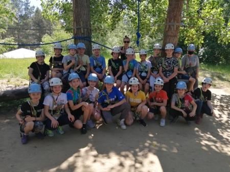 Klasa 6c bawiła się w Adventure Park