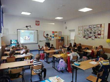 Klasy Ib i Ic wzięły udział w zajęciach edukacyjnych